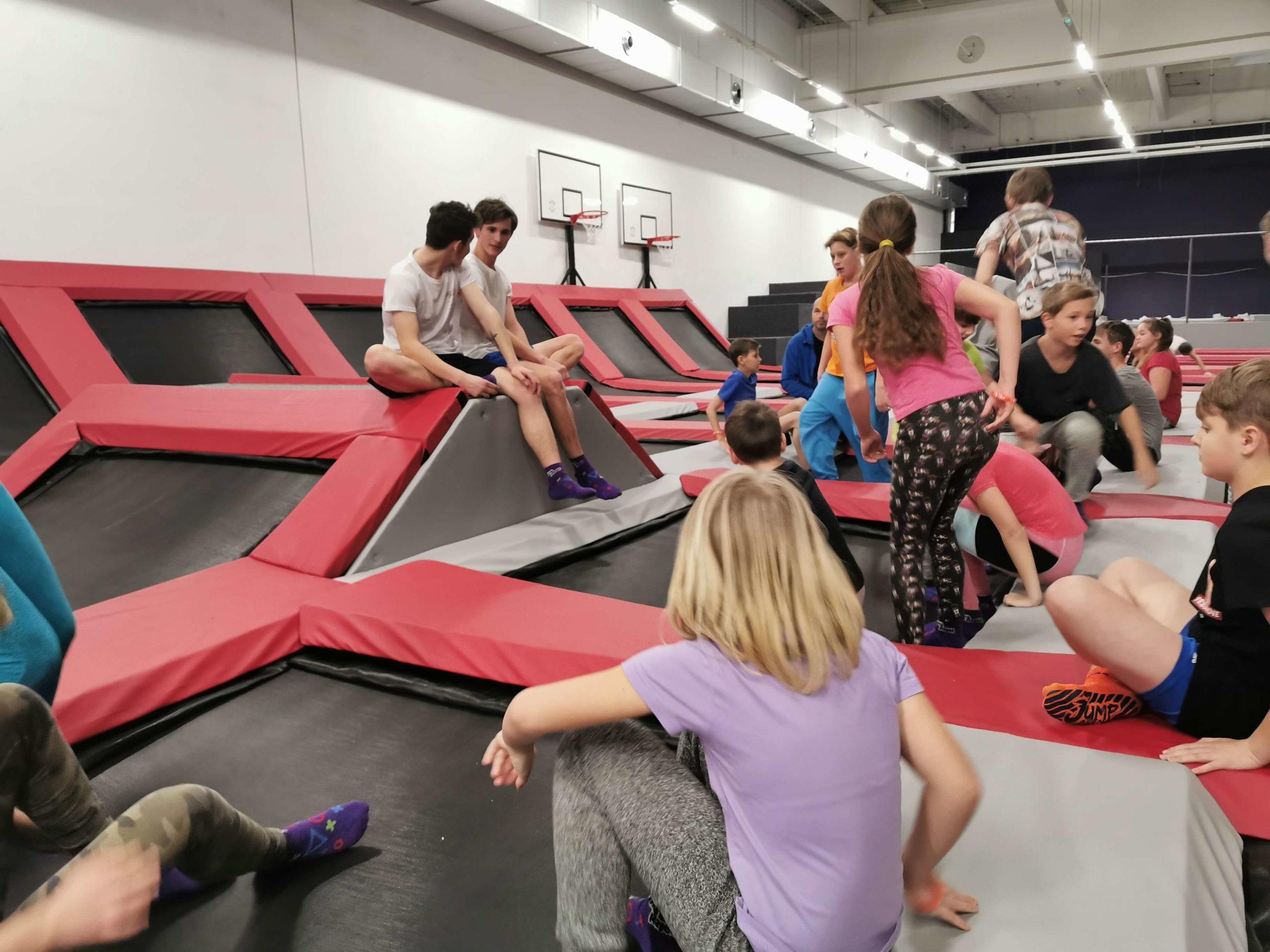 Akce a sportovní kroužky pro děti v Jump Academy