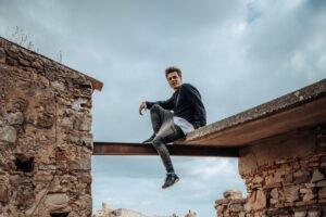 26. 9. 2020 – youtuber a parkourista Vova v Jump Academy Brno