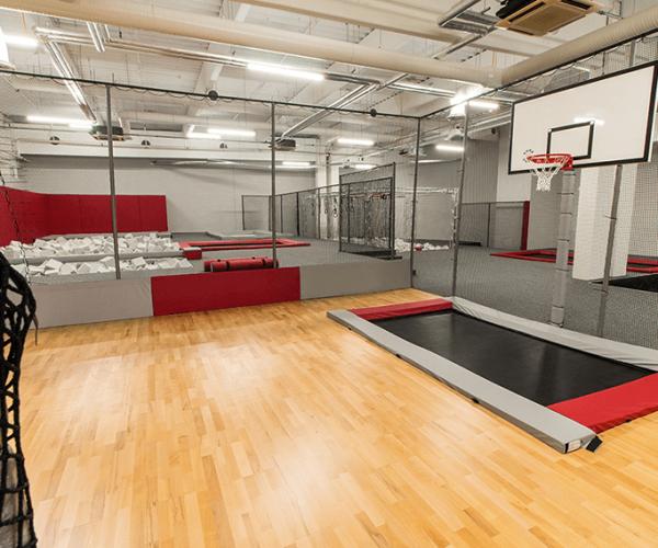 Basketbalové hřiště Jump Academy Brno