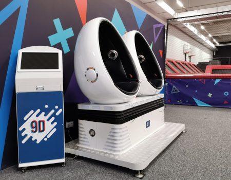 Jump Academy Olomouc 9D Kino s virtuální realitou