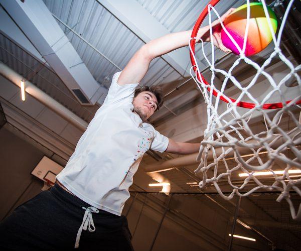 Basketbalová smeč